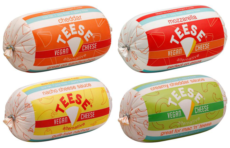Teese Vegan Cheese packaging