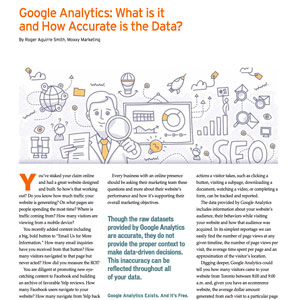 Thumbnail screenshot for Fall 2015 article on Google Analytics.